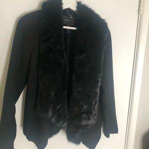Fur Coat BCBG